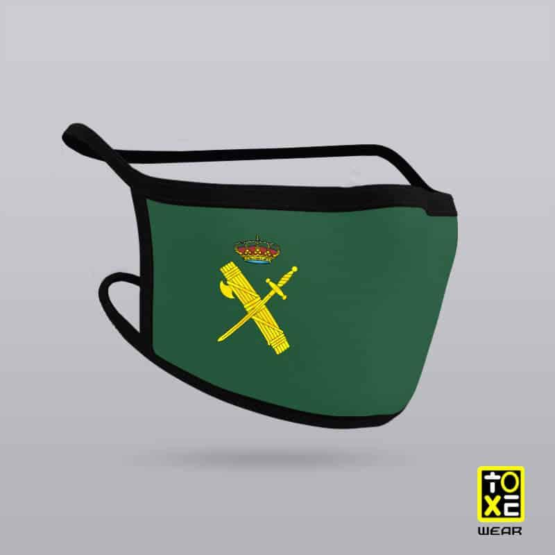 mascarilla guardia civil toxe wear