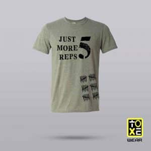camiseta toxewear one more reps