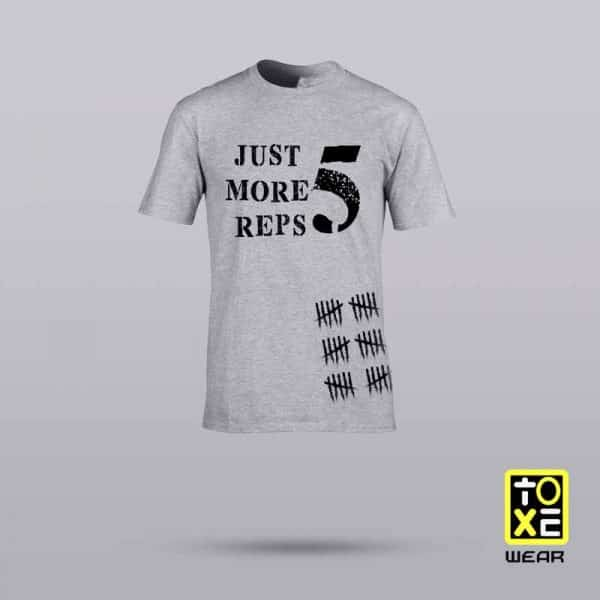 camiseta toxewear one more reps