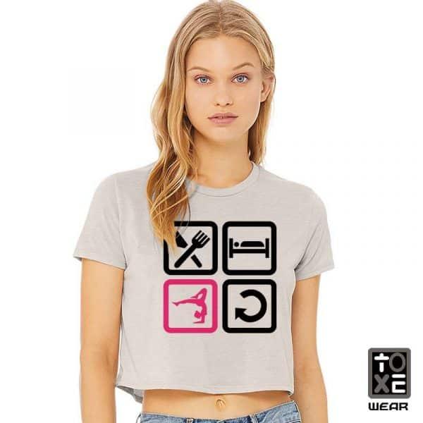 Camiseta Flow gimnasia