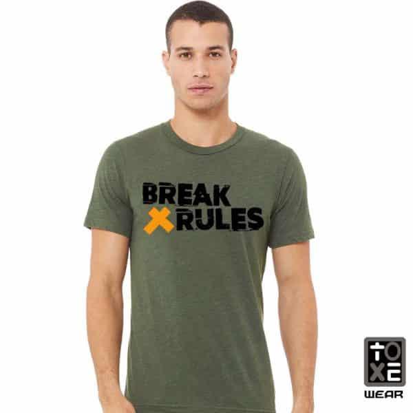 Camiseta Break Rules toxe wear