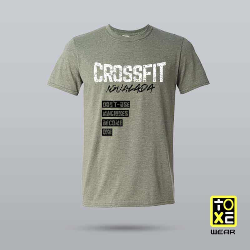 camiseta crossfit igualada toxe wear