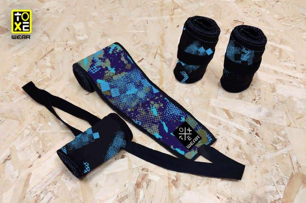 Muñequeras deportivas Camuflaje para gimnasia, halterofilia toxe wear