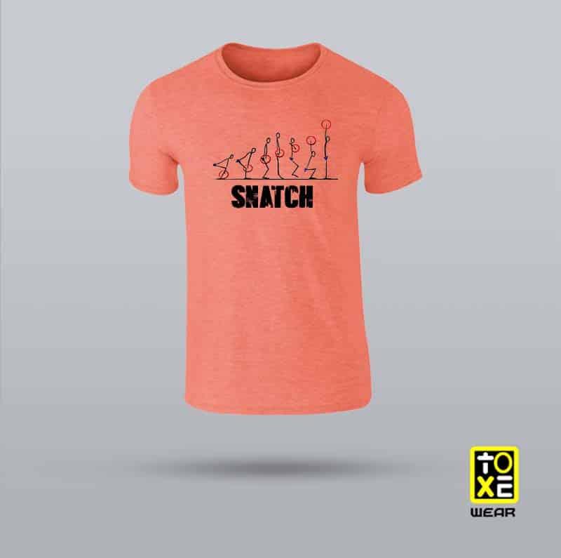 camiseta snatch toxe wear