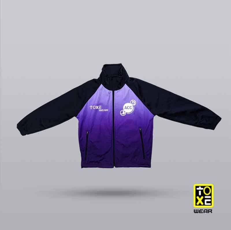 chaqueta club gimnastic anoia - toxe wear